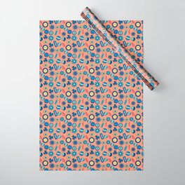 Button Box Wrapping Paper