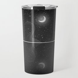 Nessie Starry Night - Loch Ness Monster Travel Mug