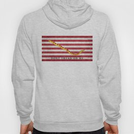 First Navy Jack flag of the USA, vintage Hoody