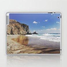 Barronal beach. Waves retro Laptop & iPad Skin