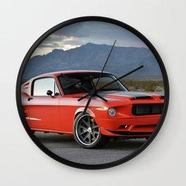 1968 Mustang Wall Clock