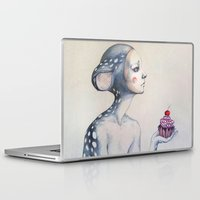 once upon a  time Laptop & iPad Skins featuring Once upon a time... by Zina Nedelcheva