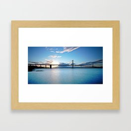 Forth Road Bridge Framed Art Print