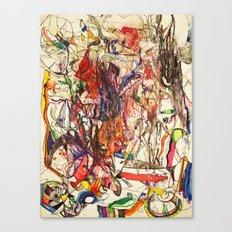 Smoke & Feng Shui Canvas Print