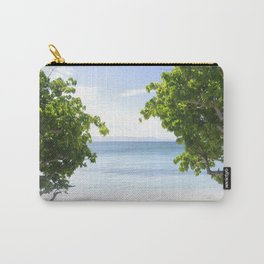 Alone on the beach Carry-All Pouch