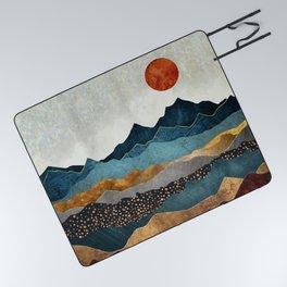 Amber Dusk Picnic Blanket