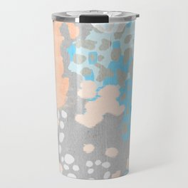 Freya - Painted minimal bright summer palette boho abstract decor minimalist Travel Mug