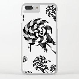 Goth Lollies Clear iPhone Case
