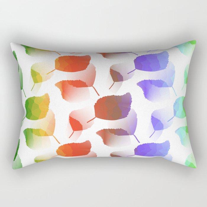 Leaves Descent Rectangular Pillow