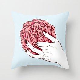 Rose Petals Throw Pillow