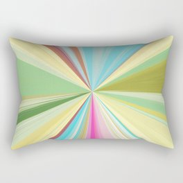 415 Abstract Colour design Rectangular Pillow