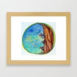 A Magical Night Framed Art Print