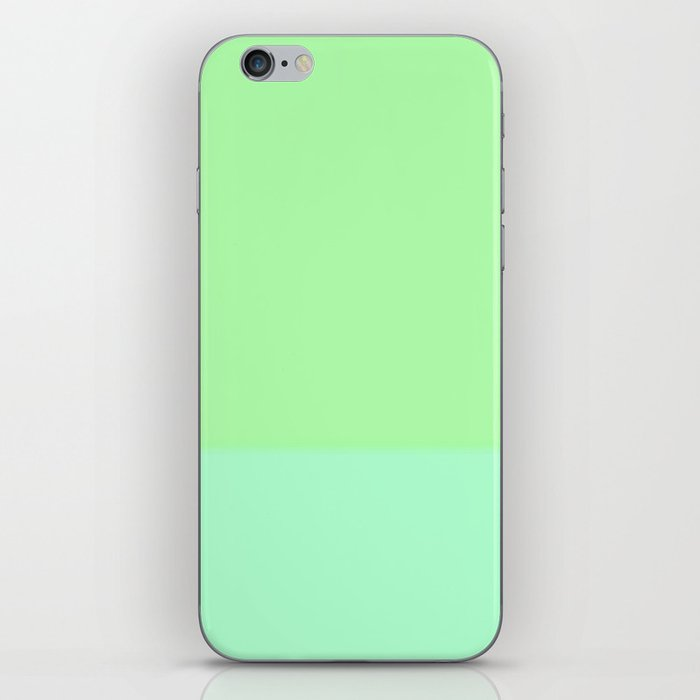 Re-Created Playing Field XXV by Robert S. Lee iPhone Skin
