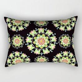 Firework Mandala Rectangular Pillow