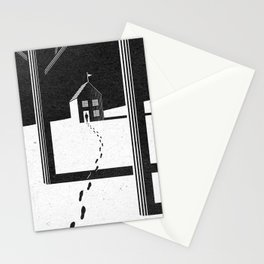 Walking Home/Deposit NY Stationery Cards