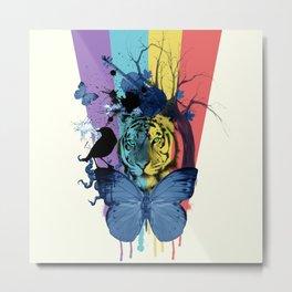 love the rainbow Metal Print