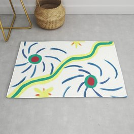 Suns and Hurricanes Rug