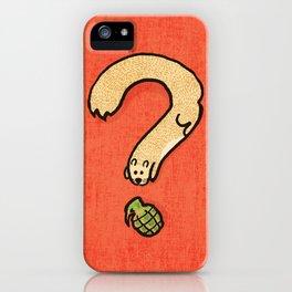 Curiosity: it kills iPhone Case