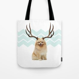 Puppy&Antlers Tote Bag