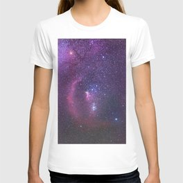 Constellation of Orion in real night sky Orion The Hun T-shirt