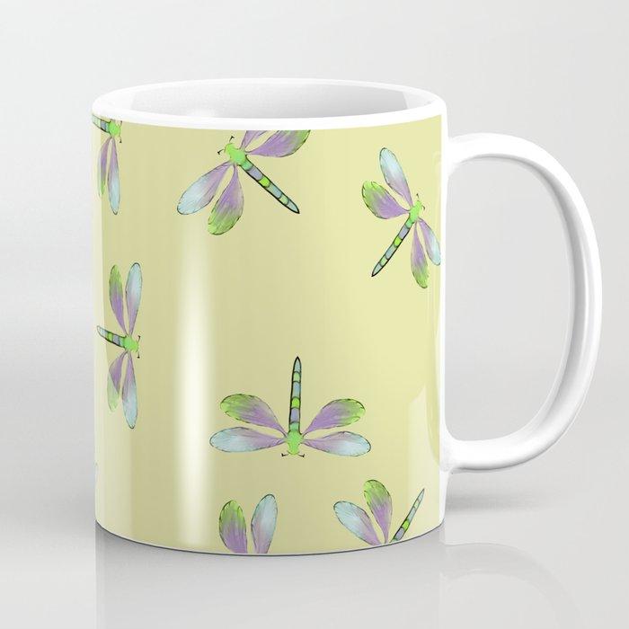 Dragonfly Frenzy Coffee Mug