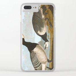 Barnacle Goose Clear iPhone Case