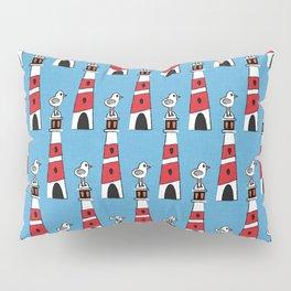 light-house blue Pillow Sham