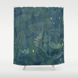 Interlacing Insecta Shower Curtain