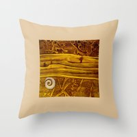 geology Throw Pillows featuring Geology 3 by Patricia Howitt
