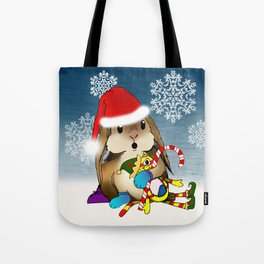Currier & Bunnies: HO HO HO Tote Bag