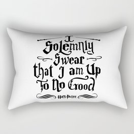 I Solemnly Swear that I am Up To No Good Rectangular Pillow
