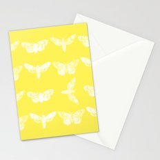 Yellow Moth's; Stationery Cards