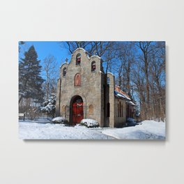 Portiuncula Chapel in Winter IV Metal Print