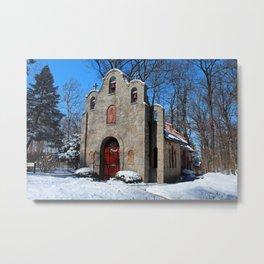 Portiuncula Chapel in Winter IV Metal Print