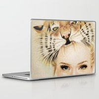 beast Laptop & iPad Skins featuring BEAST by Tessa