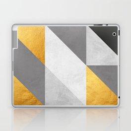 Gold Composition II Laptop & iPad Skin