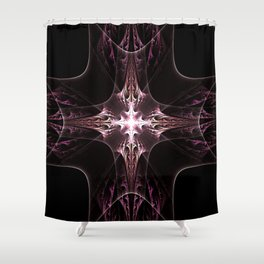 Light Cross Shower Curtain
