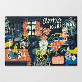 Anna Karenina Canvas Print