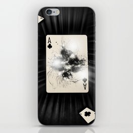 Ace of Clubs iPhone Skin