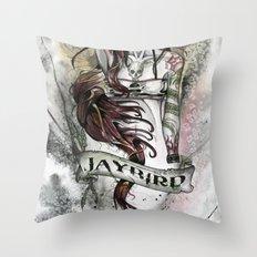 JAYBIRD art & design Throw Pillow