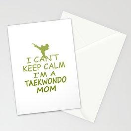 I'M A TAEKWONDO MOM Stationery Cards