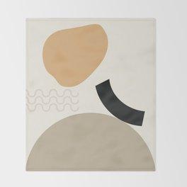 // Shape study #24 Throw Blanket