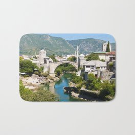 Summer in Mostar Bath Mat