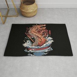 Ramen Dragon Rug