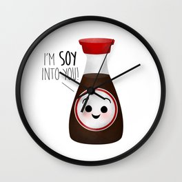 I'm Soy Into You! Wall Clock