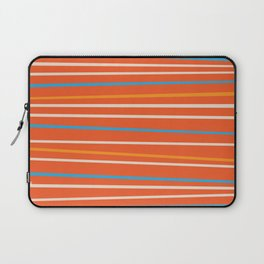 Orange Stripes Laptop Sleeve