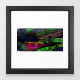 Cosmic Trash Framed Art Print