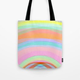 Double Rainbow - Fluor colors - Unicorn dreamers Tote Bag