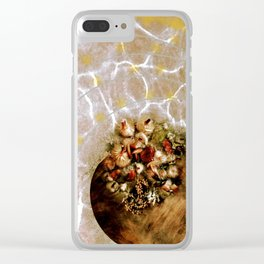 the scintillating spa feel of rejuvenation, life as moment to moment luxury Clear iPhone Case