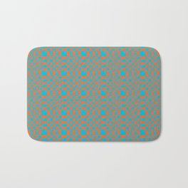 Hand-lettered new year resolutions Bath Mat